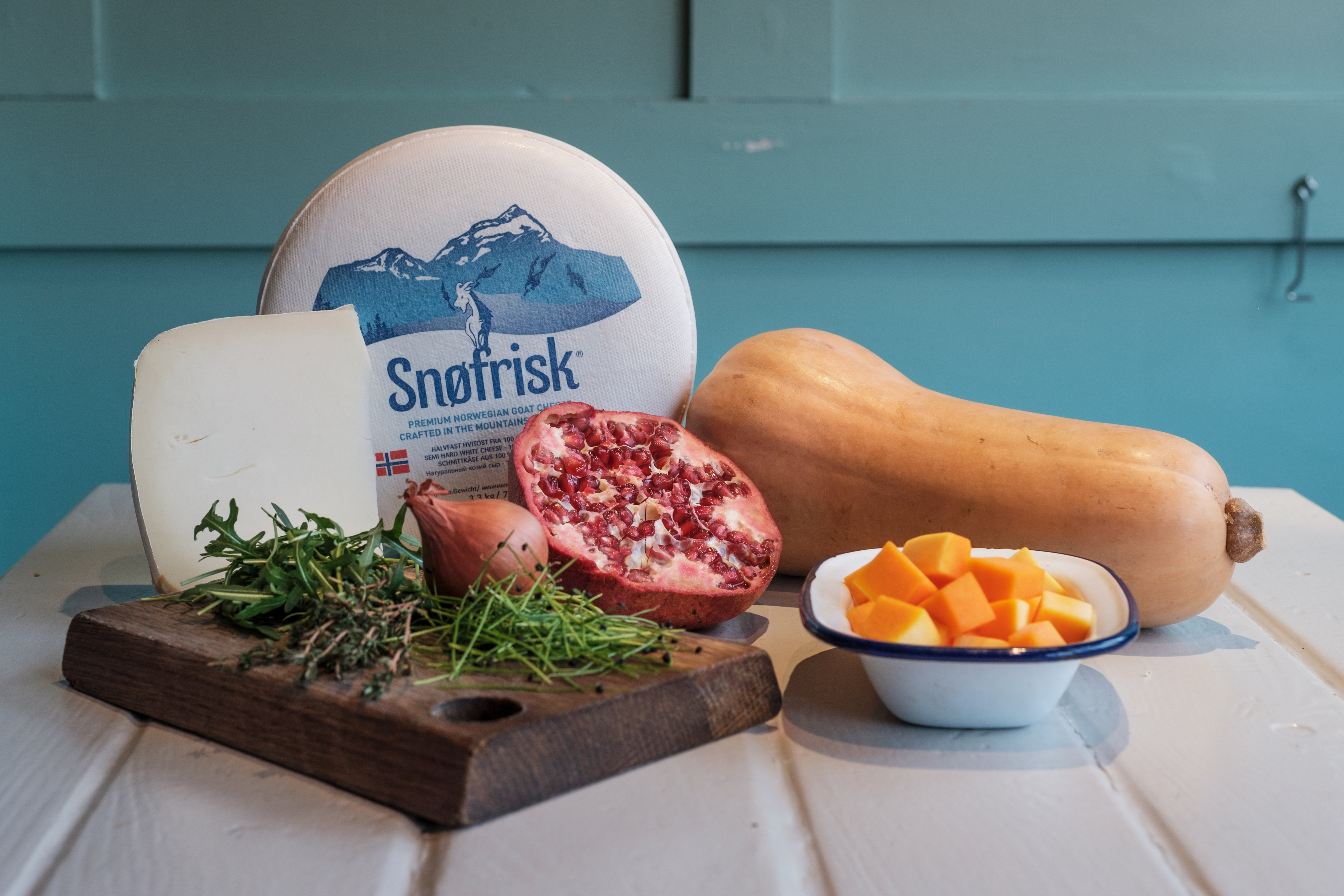 Ingredients for grilled Snøfrisk<sup>®</sup> recipe